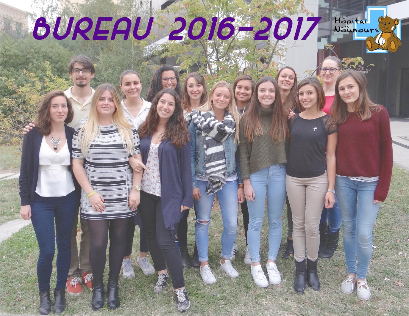 Bureau 2016-2017